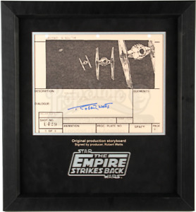 Star Wars -Ep V- ESB Signed Production Storyboard- Fighters Pursue Falcon (E9)
