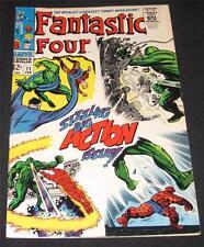 FANTASTIC FOUR #71 FN+ (6.5) - 12¢ cover Marvel Comic