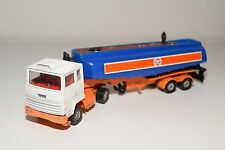 CORGI TOYS 1160 FORD TILT CAB TRUCK WITH TRAILER GULF EXCELLENT CONDITION