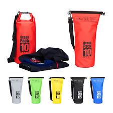Ocean Pack 10 Liter, Dry Bag wasserdicht, Outdoor Bag, Trockentasche gegen Nässe