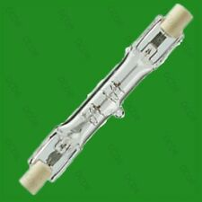 4x 120W (= 150w) R7s J78 R7 Lineal Halógeno Bombillas seguridad Lámpara