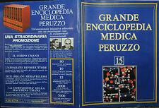 GRANDE ENCICLOPEDIA MEDICA PERUZZO N°15 / 1978
