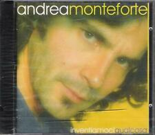 """ANDREA MONTEFORTE - RARO CD FUORI CATALOGO CELOPHANATO """" INVENTIAMOCI QUALCOSA """""""