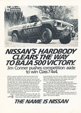 1987 Nissan Truck Baja Class7 500 - Classic Car Advertisement Print Ad J86