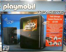 **NEU** PLAYMOBIL® Top Agents 4879 Spionage Kameraset **OVP**