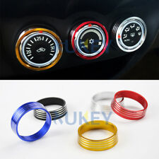 1pc For Mitsubishi ASX Outlander Sport Switch Knob Dials a/c Air Con Ring Cover