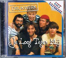 DRUKWERK - JE LOOG TEGEN MIJ - CD