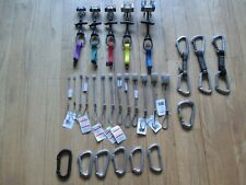 Complete Rock Climbing Trad rack. Black Diamond Camalots, nuts, carabiners, cams