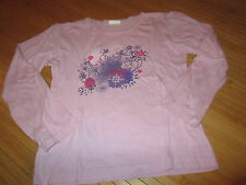 Tee-shirt Rose à motif,ML,T8ans,marque Influx,en TBE