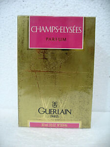 CHAMPS-ELYSEES GUERLAIN Parfum Splash 30ml / 1 fl.oz. SEALED BOX RARE VINTAGE