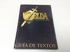 GUIA DE TEXTOS THE LEGEND OF ZELDA OCARINA OF TIME . Pal España