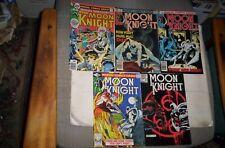 Moon Knight,Marvel Spotlight Lot of 5 Issues 1976-1983