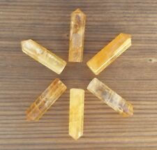 NATURAL CITRINE SINGLE TERMINATED GEMSTONE CRYSTAL PENCIL POINT (ONE)