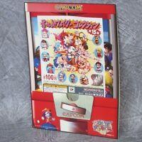 CAPCOM SECRET FILE POCKET FIGHTER Brochure Art Arcade Ltd Book