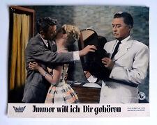 HEIDI BRÜHL, HANS SÖHNKER * Immer will ich Dir gehören - AUSHANGFOTO #13 - 1960
