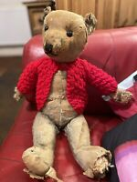 Old antique Bear A Blue 1930 Chiltern