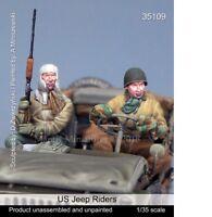 Mantis Miniatures 1/35 WWII US Jeep Riders