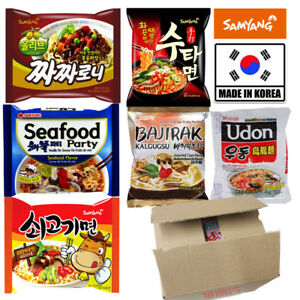 Samyang Instant Noodle Soup Ramyun Ramen (Pack of 20) - Sutah, Seafood Party