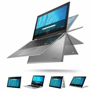 """Acer 11.6"""" Touchscreen Convertible Spin 311 Chromebook 32GB 4GB 2in1 Silver New"""
