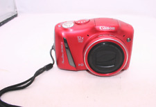 Canon PowerShot SX150 IS 14.1MP Digital Camera-Red