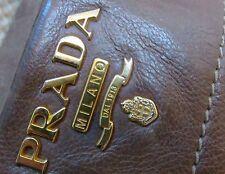 PRADA Bag Large Unisex Leather Handbag -100% Authentic
