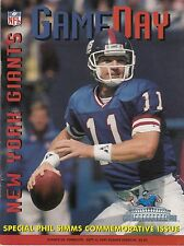 1995 Giants v Cowboys Program Dallas Champs 9/4 Phil Simms Ex 32410