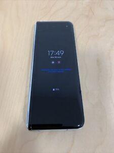 Samsung Galaxy Fold 5G 512GB Black Foldable Unlocked Read Below For Faults