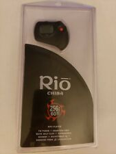Rio Chiba 256Mb 60 Song Mp3 Player bundle New
