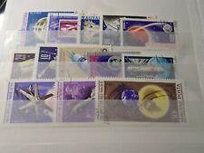 ESPACE, FUSEES, SATELLITES, LOT timbres oblitérés, TB, SPACE