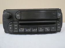 02 03 07 Caravan Jeep Wrangler Liberty Am Fm Radio Cd Disc Player Face Plate Oem