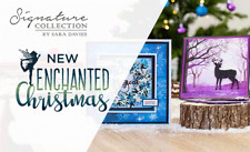Sara Signature ENCHANTED CHRISTMAS Dies Accessories Paper By Crafters Companion