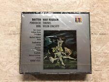 SEALED 2 CD Britten Penderecki Berg Scherzer Herbert Kegel 1992 Berlin Classics