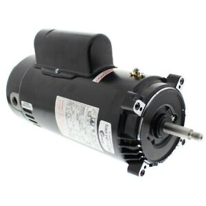 A.O. Smith ST1202 Round Flange 2HP 230V Full Rate Motor