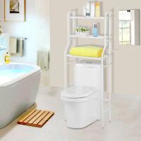 3 Tier Over Toilet Shelf Bathroom Space Saver Metal Towel Storage Rack Organizer