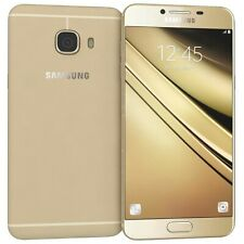 Brand New Samsung Galaxy C5 Dual Sim SM-C5000 32GB Gold (GSM Unlocked) #16872