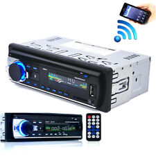 Car Bluetooth Stereo Audio 1DIN In-Dash FM Aux Input Receiver SD/USB/MP3 Radio