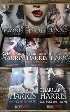 Charlaine Harris 8 Book Set collection True Blood Southern Vampires