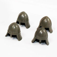Lego Ritter 4x Helm Castle Knight helmet dunkel grau old dark gray 3844 6080 R95