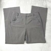 Larry Levine Gray Stretch Trousers Size 10