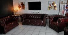 Chesterfield Leder Garnitur Brigthon Premium A1 de Luxe