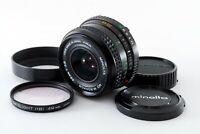 Minolta MD W.ROKKOR 35mm f/2.8 Wide Angle MF SLR Lens from JAPAN [Excellent++]