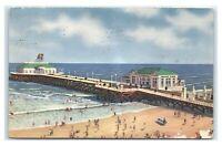 Postcard Heinz Ocean Pier, Atlantic City NJ 1941 A53