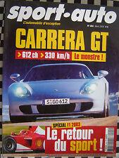 sport auto 2003 AUDI TT V6 / PORSCHE CARRERA GT / SMART ROADSTER & COUPÉ /  F1