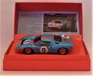 1/32 Slot.it CW16 Ford GT40 # 9 Rodriguez / Bianchi Winner 1968 Le Mans 24 Hour