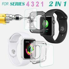 Premium gehärtetes Glas für Apple Watch iWatch 4 40 /44mm Bildschirm Schutzfolie