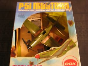 VINTAGE WW2 MUSTANG COX P-51 AIRPLANE USA