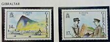 2 X Timbre Stamp Gibraltar 1982 YT 458 459 EUROPA CEPT Neufs