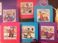 Pantomime Cards By Joan Elliott Cross Stitch Chart