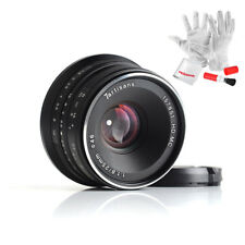 US Warehouse 7artisans 25mm F1.8 Manual Focus Prime Fixed Lens for Sony E-Mount