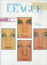 THE HUMAN LEAGUE dare MEXICO 1982 EX WITH TEXT INNERSLEEEVE